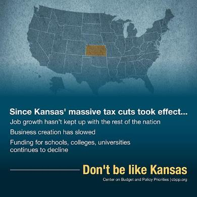 Don't be like Kansas